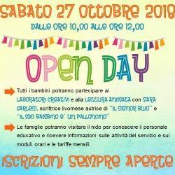 OPEN DAY al Mondo Infanzia Blu di Livorno
