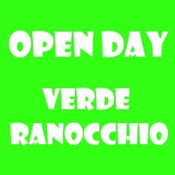 Verde Ranocchio Open day 2020-2021