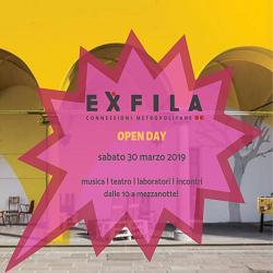 Sabato 30 marzo 2019 laboratorio allo spazio gioco Verde Ranocchio in occasione dell'Open Day di Exfila